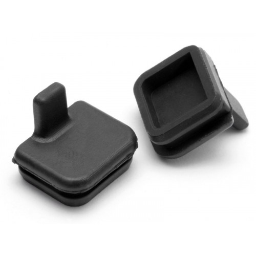 TAPONES SILICONA  10x11mm (BLACK) Savage X