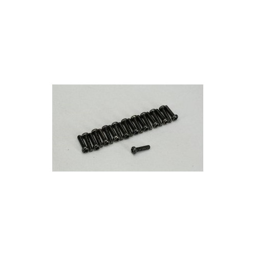 HIROBO 2533-014 PAN HEAD SCREW M3X12