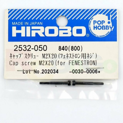 HIROBO 2532-050 CAP SCREW M2x20