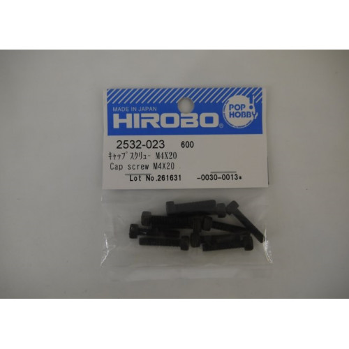 HIROBO 2532-023 CAP SCREW M4X20