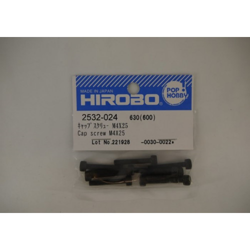HIROBO 2532-024 CAP SCREW M4X25