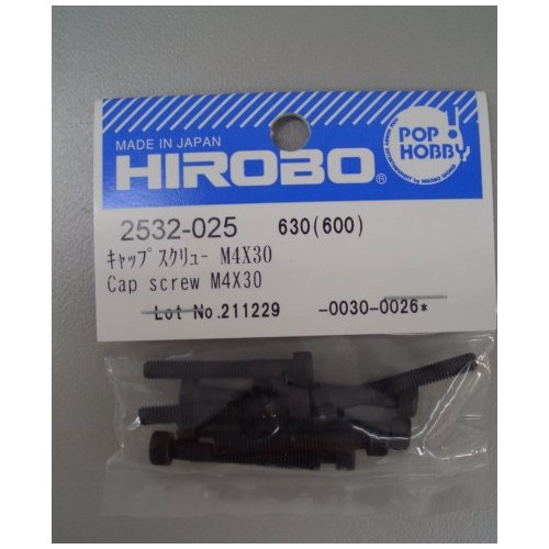 HIROBO 2532-025 CAP SCREW M4X30