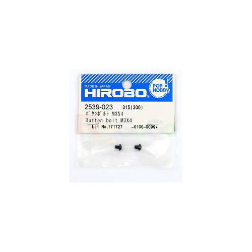 HIROBO 2539-023 Button bolt M3x4