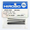 HIROBO 2522-042 Adjust rod M1.7X55